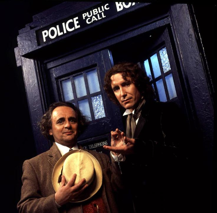 Doctor Who : Photo Paul McGann, Sylvester McCoy