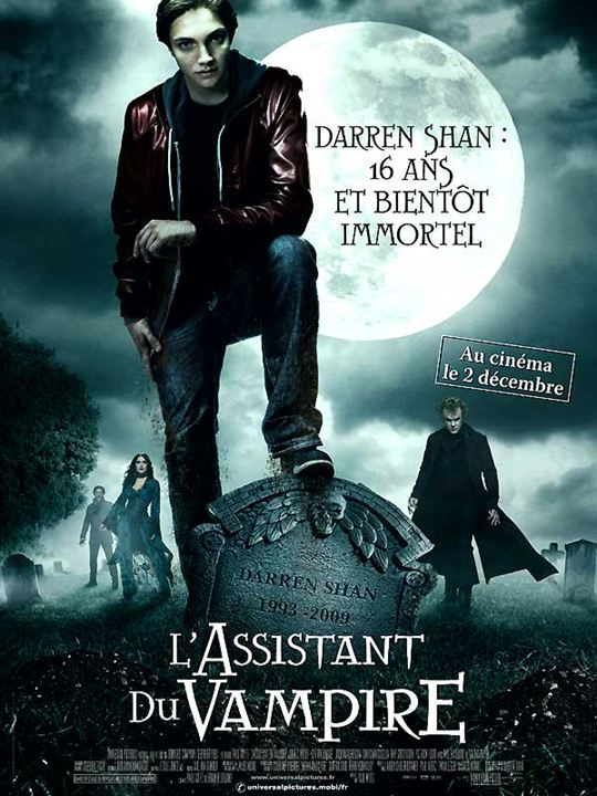 L'Assistant du vampire : Affiche