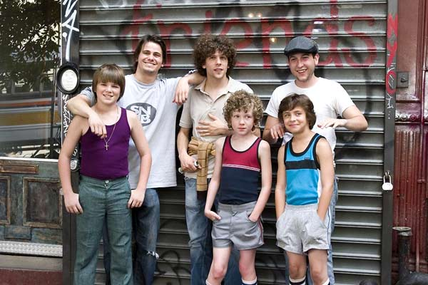 Charlie Banks : Photo Chris Marquette, Fred Durst, Jason Ritter, Jesse Eisenberg