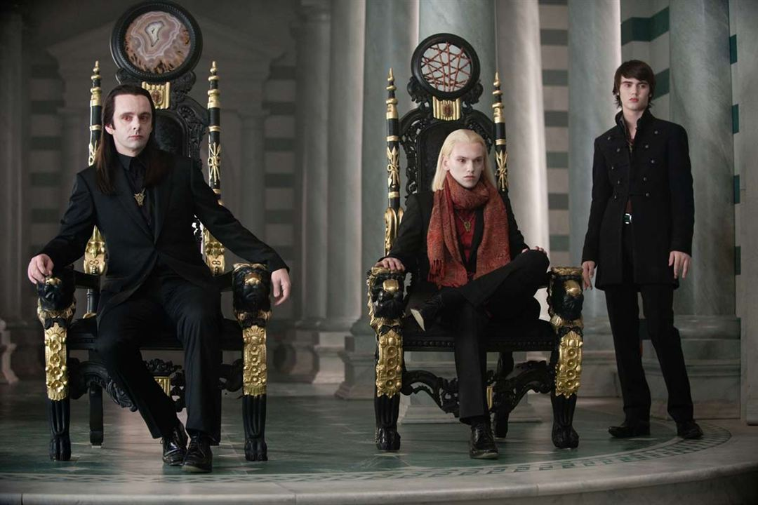 Twilight - Chapitre 2 : tentation : Photo Cameron Bright, Jamie Campbell Bower, Michael Sheen, Stephenie Meyer