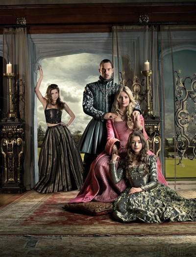 Les Tudors : Photo Annabelle Wallis, Jonathan Rhys-Meyers, Sarah Bolger