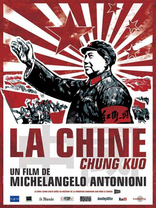 La Chine : Affiche Michelangelo Antonioni