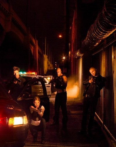 Dark Blue : Unité Infiltrée : Photo Dylan McDermott, Logan Marshall-Green, Nicki Aycox, Omari Hardwick