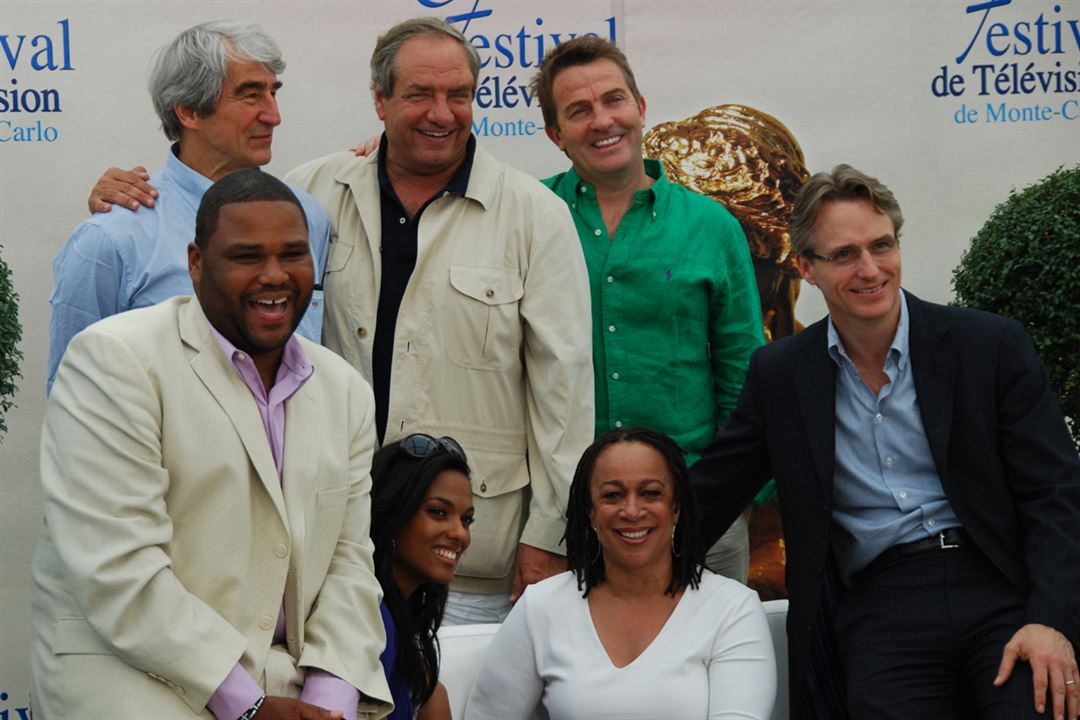 Photo Anthony Anderson, Bradley Walsh, Dick Wolf, Freema Agyeman, Linus Roache