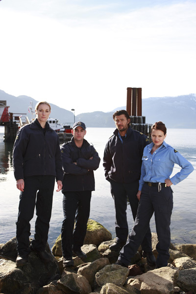 The Guard : police maritime : Photo Jeremy Guilbaut, Sonya Salomaa, Steve Bacic, Zoie Palmer