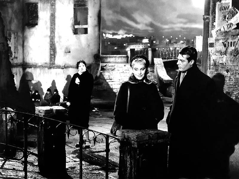 Les Nuits blanches : Photo Luchino Visconti, Marcello Mastroianni, Maria Schell