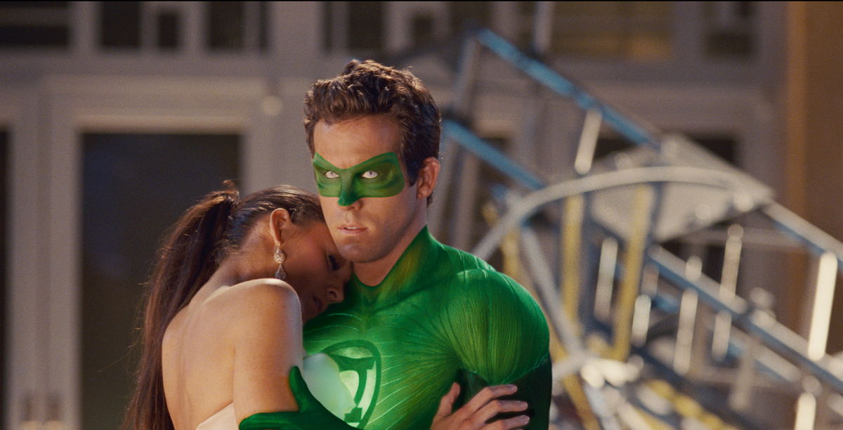 Green Lantern : Photo Blake Lively, Ryan Reynolds