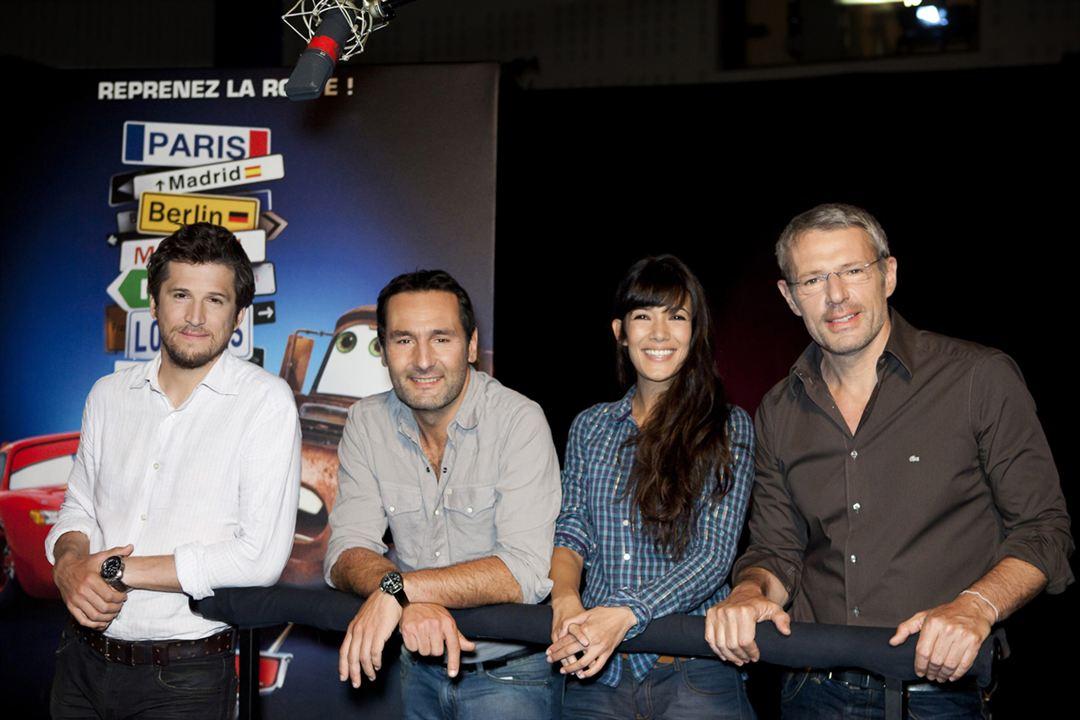 Cars 2 : Photo Gilles Lellouche, Guillaume Canet, Lambert Wilson, Mélanie Doutey