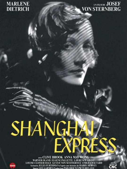 affiche du film shanghai express affiche 1 sur 1 allocin. Black Bedroom Furniture Sets. Home Design Ideas