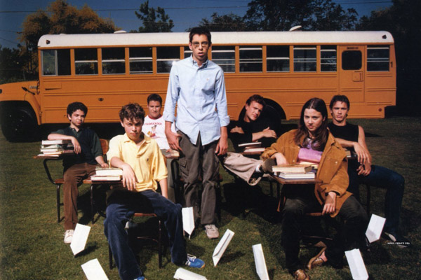 Freaks and Geeks : Photo James Franco, Jason Segel, John Francis Daley, Linda Cardellini, Martin Starr