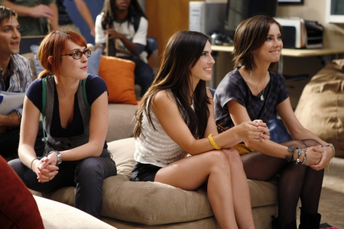 90210 Beverly Hills Nouvelle Génération : Photo Jessica Lowndes, Jessica Stroup, Rumer Willis