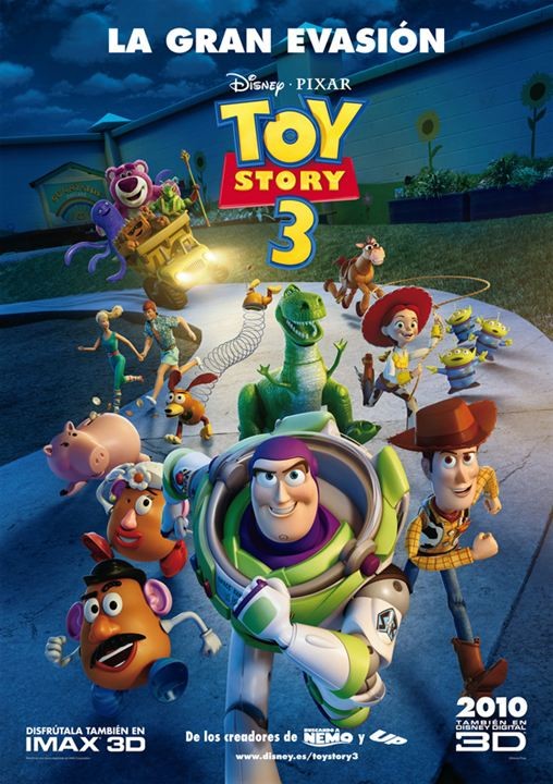 Toy Story 3 : Affiche