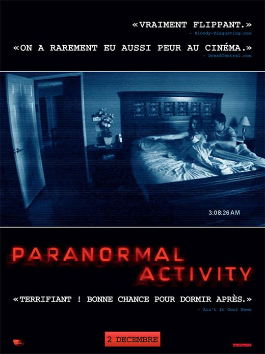 Paranormal Activity : Affiche Oren Peli