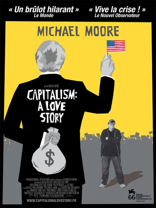 Capitalism: A Love Story : Affiche Michael Moore