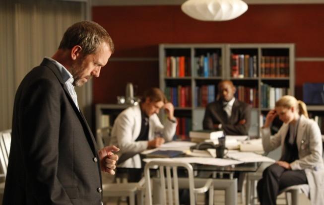 Dr House : Photo Hugh Laurie, Jennifer Morrison, Jesse Spencer, Omar Epps
