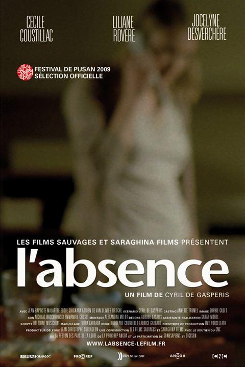 L'Absence : affiche Cyril de Gasperis