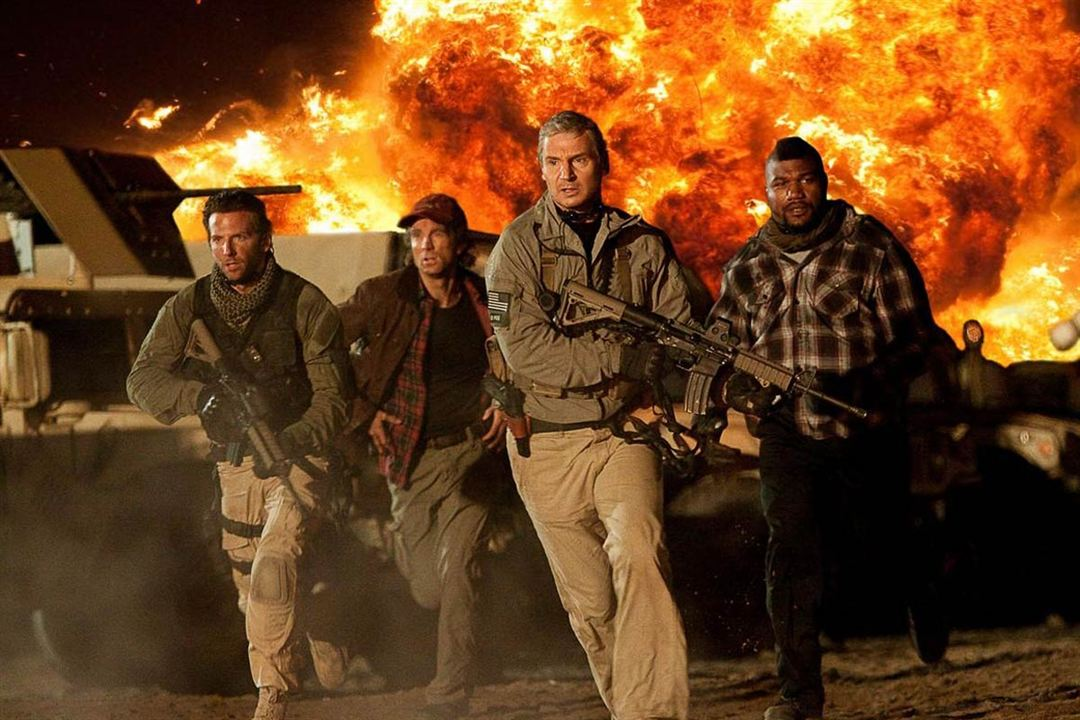 L'Agence tous risques : Photo Bradley Cooper, Liam Neeson, Quinton Rampage Jackson, Sharlto Copley