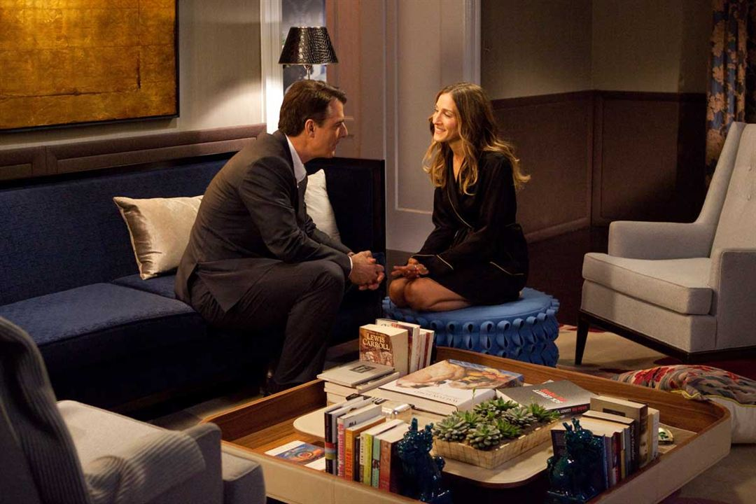 Sex and the City 2 : Photo Chris Noth, Michael Patrick King, Sarah Jessica Parker
