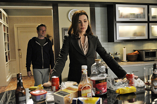 Photo Dallas Roberts, Julianna Margulies