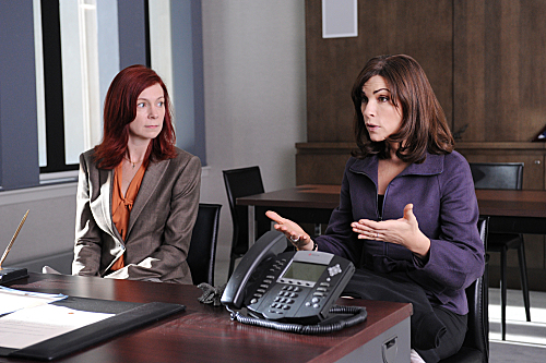 Photo Carrie Preston, Julianna Margulies