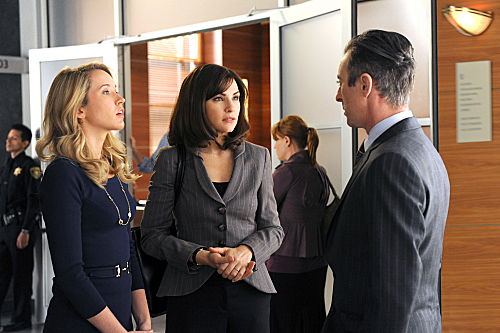 Photo Alan Cumming, Anna Camp, Julianna Margulies