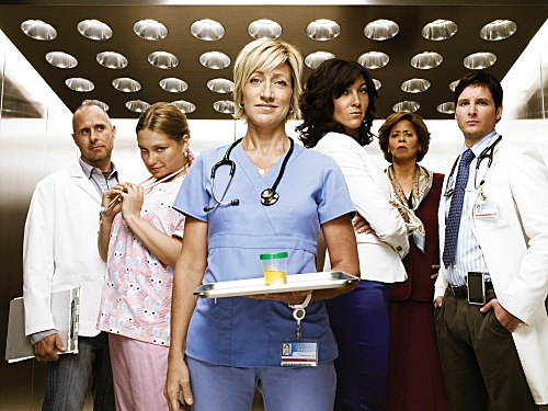 Nurse Jackie : Photo Anna Deavere Smith, Edie Falco, Eve Best, Merritt Wever, Paul Schulze