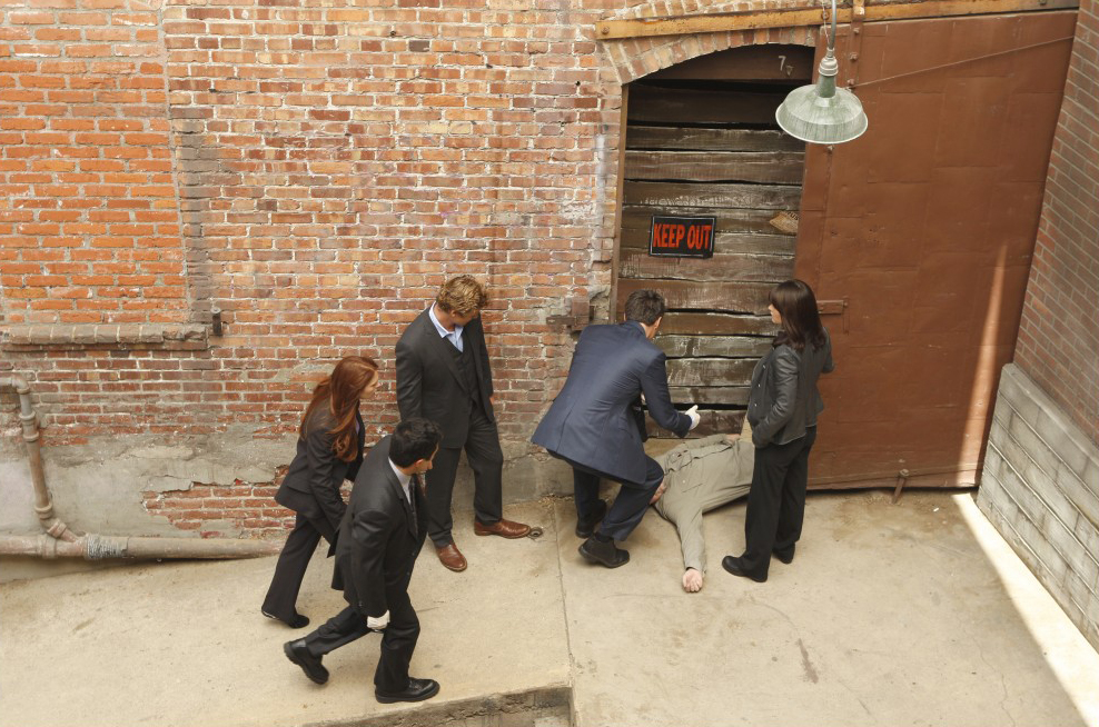Mentalist : Photo Amanda Righetti, Owain Yeoman, Robin Tunney, Simon Baker, Tim Kang