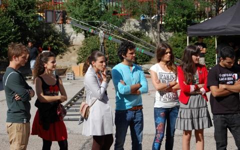 Physique ou Chimie : Photo Alex Batllori, Juan Pablo Di Pace, Lorena Mateo, Lucía Ramos, Olivia Molina
