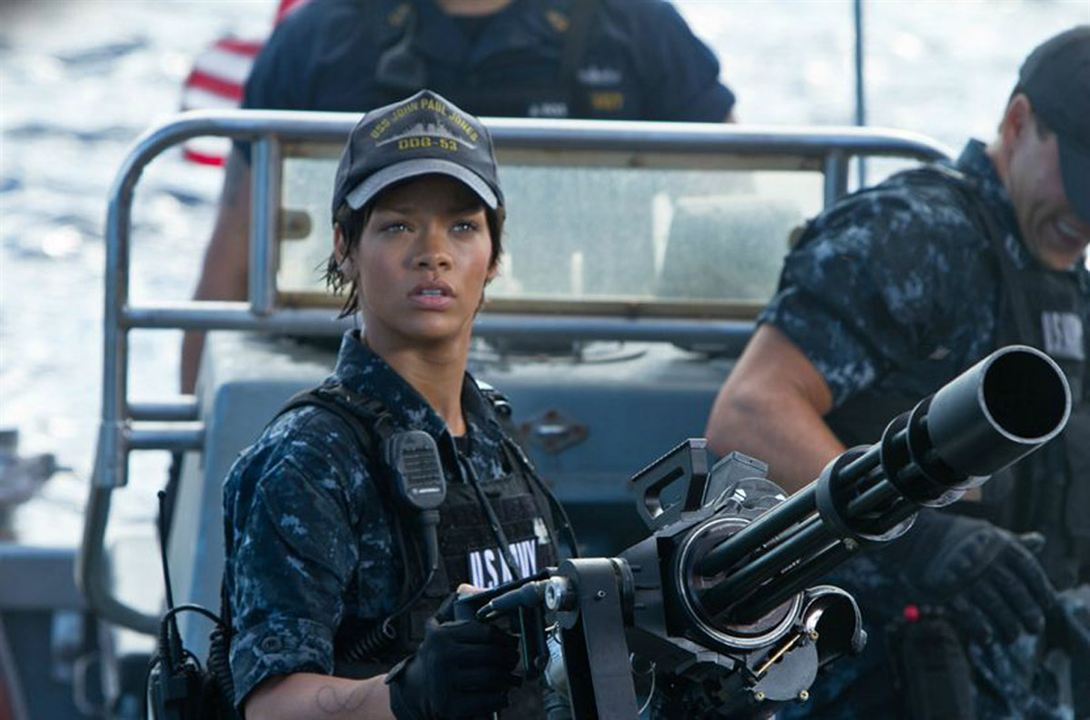 Battleship : Photo Peter Berg, Rihanna