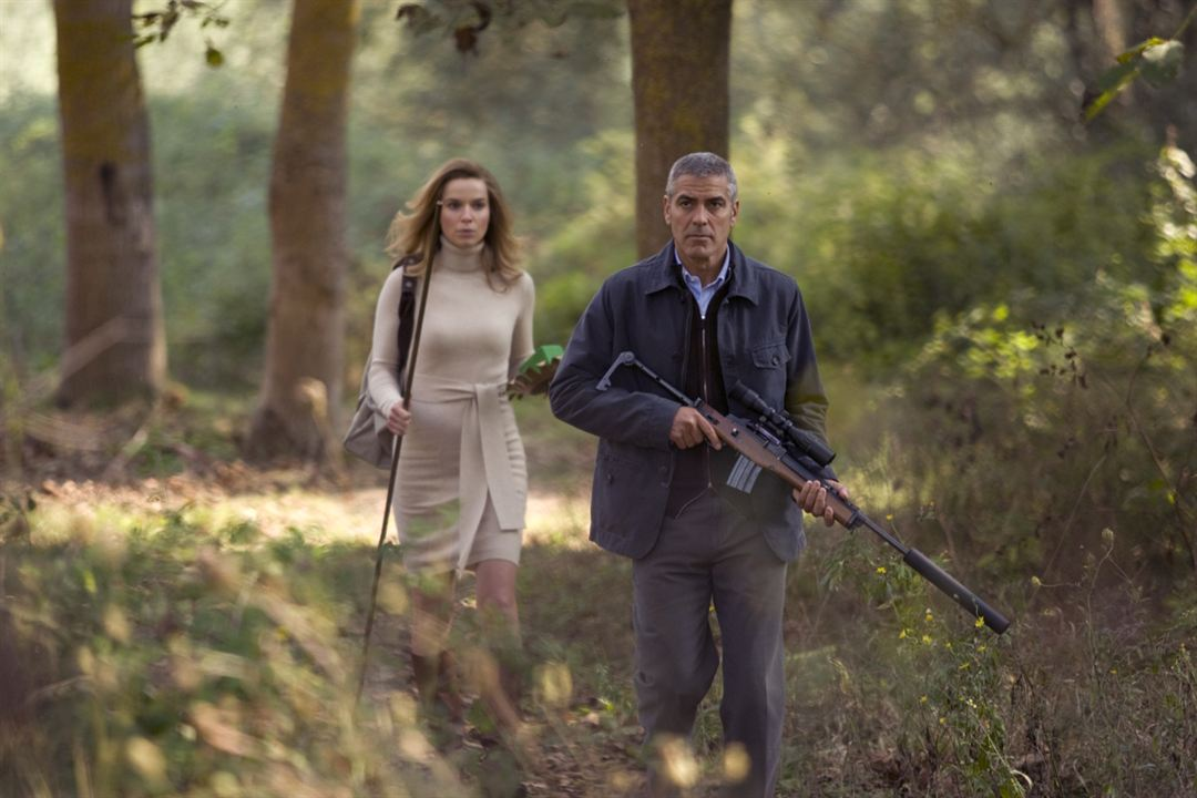 The American : Photo George Clooney, Thekla Reuten