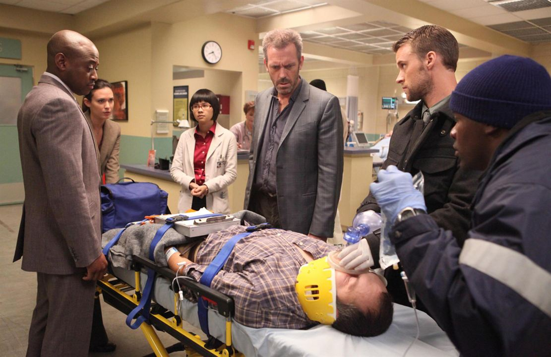 Photo Charlyne Yi, Hugh Laurie, Jesse Spencer, Odette Annable, Omar Epps