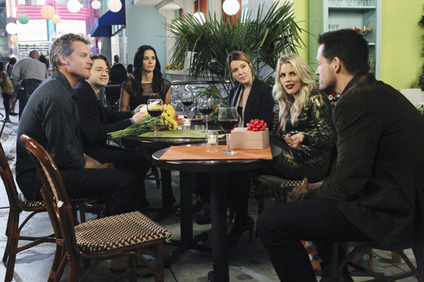 Cougar Town : Photo Busy Philipps, Christa Miller-Lawrence, Courteney Cox, Dan Byrd, Josh Hopkins