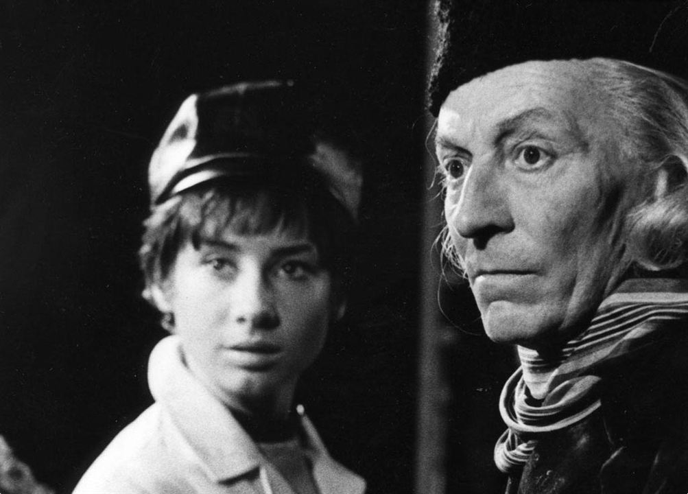 Doctor Who (1963) : Photo Carole Ann Ford, William Hartnell