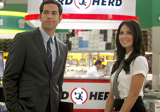 Chuck : Photo Olivia Munn, Zachary Levi