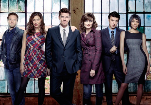 Photo David Boreanaz, Emily Deschanel, John Francis Daley, Michaela Conlin, T.J. Thyne
