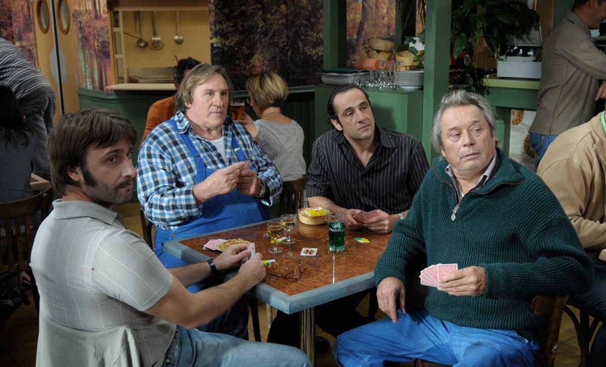 La Tête en friche : Photo Bruno Ricci, Gérard Depardieu, Matthieu Dahan, Patrick Bouchitey