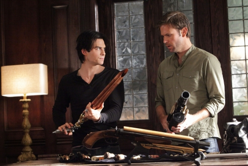 Vampire Diaries : Photo Ian Somerhalder, Matthew Davis