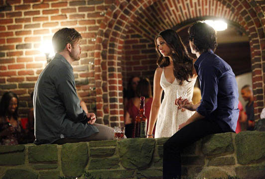 Photo Ian Somerhalder, Matthew Davis, Nina Dobrev