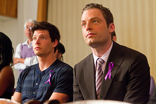 Photo Hunter Parrish, Justin Kirk