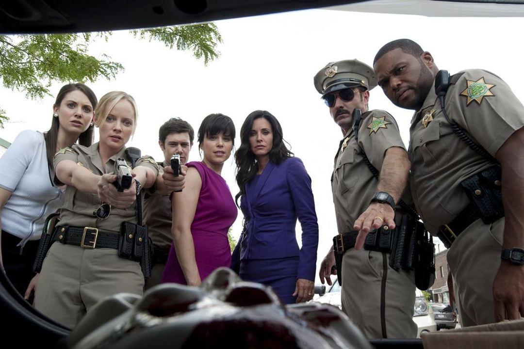 Scream 4 : Photo Adam Brody, Alison Brie, Anthony Anderson, Courteney Cox, David Arquette