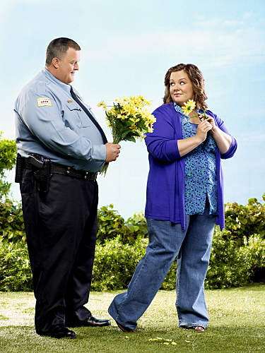 Mike & Molly : Photo Billy Gardell, Melissa McCarthy