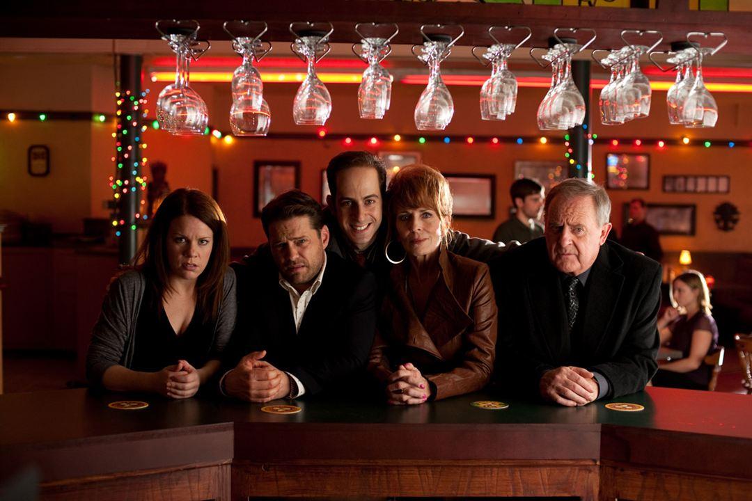 Photo Ernie Grunwald, Jason Priestley, Joanna Cassidy, Peter MacNeill, Tracy Dawson