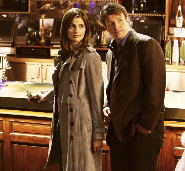 Castle : Photo Nathan Fillion, Stana Katic