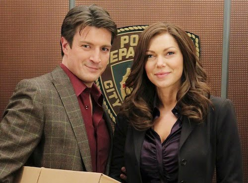 Photo Laura Prepon, Nathan Fillion