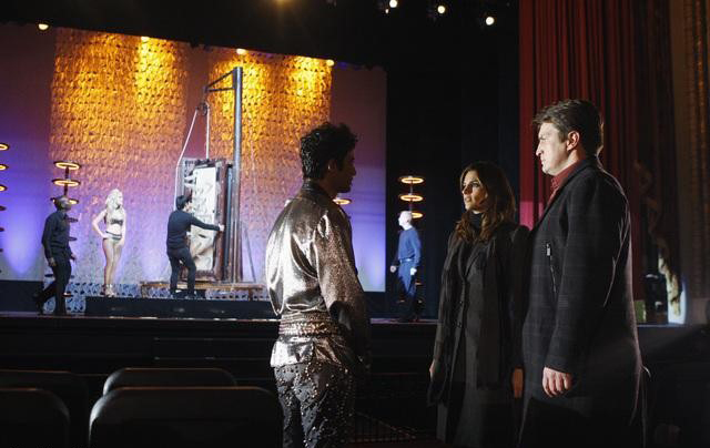 Castle : Photo Gilles Marini, Nathan Fillion, Stana Katic