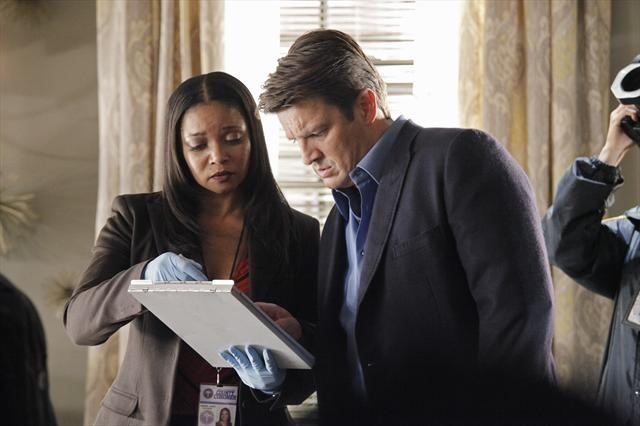 Photo Nathan Fillion, Tamala Jones