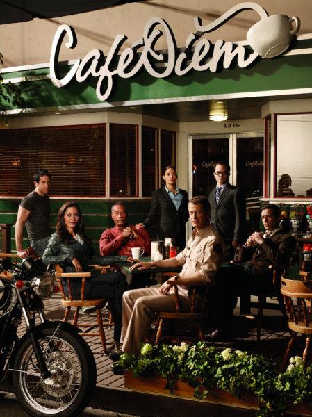 Eureka : Photo Colin Ferguson, Erica Cerra, James Callis, Joe Morton, Neil Grayston