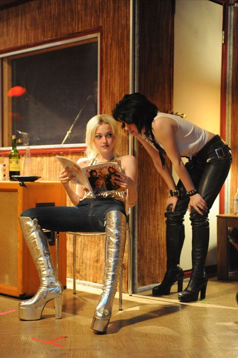 Les Runaways : Photo Dakota Fanning, Floria Sigismondi, Kristen Stewart