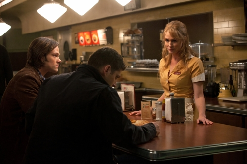 Photo Jared Padalecki, Jensen Ackles, Samantha Smith (III)
