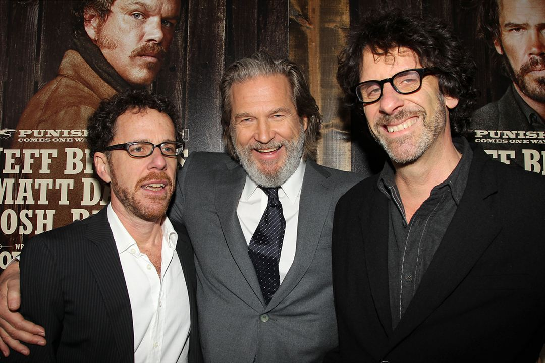 True Grit : Photo Ethan Coen, Jeff Bridges, Joel Coen